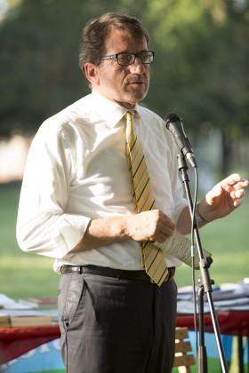 Il sindaco di Modena: Gian Carlo Muzzarelli