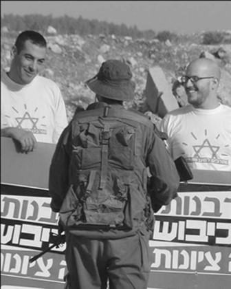 refusnik e soldati israeliani a confronto