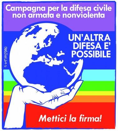 """2 OTTOBRE 2014: """"Un'altra difesa è possibile"""", al via l'iniziativa"""