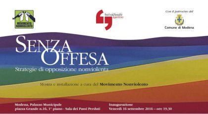 Senza Offesa. Il Movimento Nonviolento al Festival Filosofia