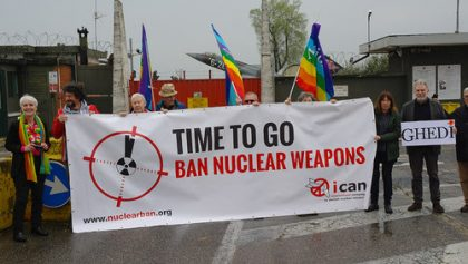 E' tempo di mettere al bando le armi nucleari. Anche in Italia