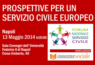 """Napoli: Seminario """"Prospettive per un Servizio Civile Europeo"""""""