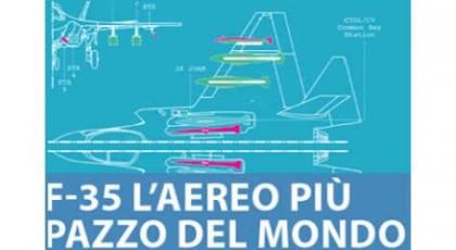 """F35: a Napoli la presentazione del libro """"L'aereo più pazzo del mondo"""""""
