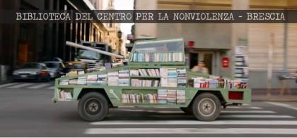 Movimento Nonviolento di Brescia: il 2 ottobre si inaugura la nuova Biblioteca