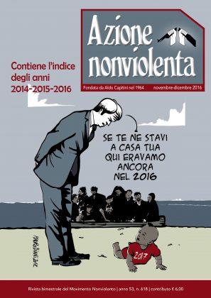 Azione nonviolenta, Novembre-Dicembre 2016 (Anno 53, n. 618)