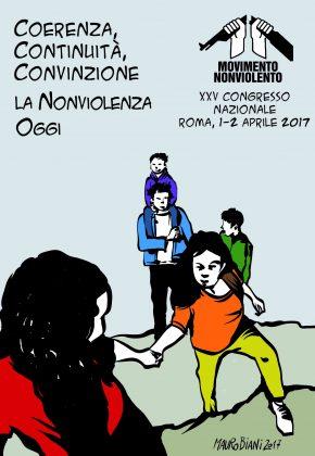 Il 25° Congresso del Movimento Nonviolento: Coerenza, continuità, convinzione. La nonviolenza oggi