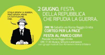 2 giugno a Reggio Emilia: Festa della Repubblica che ripudia la Guerra