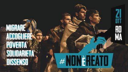 #Nonèreato! 21 ottobre manifestazione a Roma