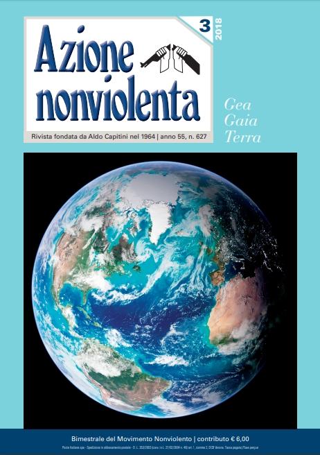Risultati immagini per Azione nonviolenta, 3 - 2018