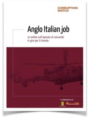 """""""Anglo Italian job"""": Leonardo spa e l'incrocio pericoloso tra armi e corruzione"""