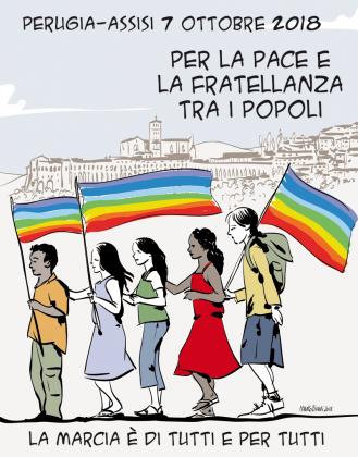 La Marcia è di tutti e per tutti: Perugia Assisi, 7 ottobre