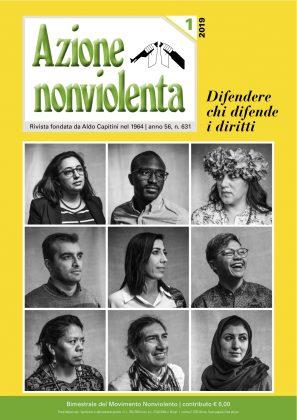 Azione nonviolenta, 1 – 2019 (Anno 56, n. 631 – gennaio-febbraio)