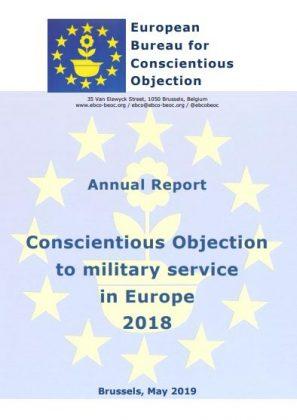 L'Ufficio europeo per l'obiezione di coscienza critica l'incapacità delle istituzioni europee di proteggere gli obiettori di coscienza al servizio militare