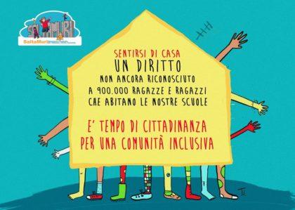Sentirsi di casa. Il Tavolo SaltaMuri per i 900.000 ragazzi e ragazze italiani senza cittadinanza