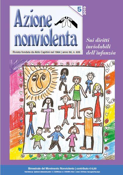 """Risultati immagini per numero 5-2019 di """"Azione nonviolenta"""""""