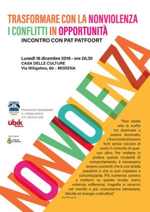 Pat Patfoort torna a Modena il 16 e 17 dicembre